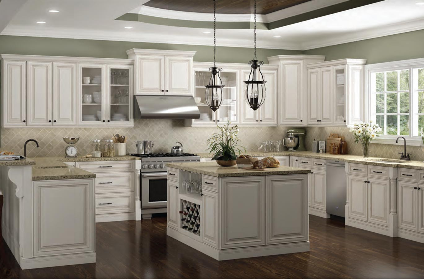 Antique white cabinets kitchen changefifa for Kitchen cabinets 75 off